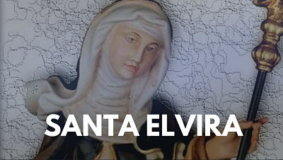 Santa Elvira de Ohren abadesa onomastico 16 julio