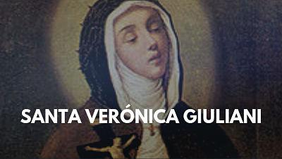 Santa Verónica Giuliani biografia abadesa religiosa pasionista mistica estigmas pasion