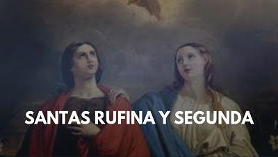 Santas Rufina y Segunda martires foto