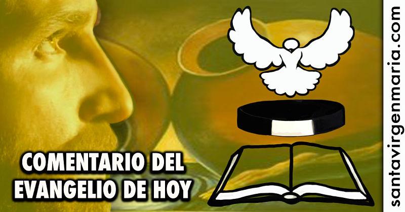 COMENTARIO DEL EVANGELIO 2 julio 2016