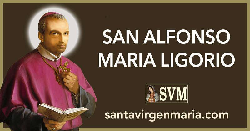 LAS FRASES DE SAN ALFONSO MARIA LIGORIO A MARIA
