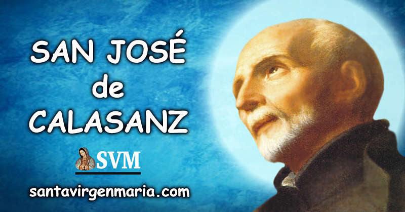 ORACION A SAN JOSE DE CALASANZ