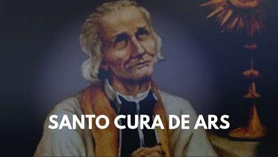 Santo cura de Ars Juan maria vianney parroco sacerdote patrono footo biografia 4 agosto