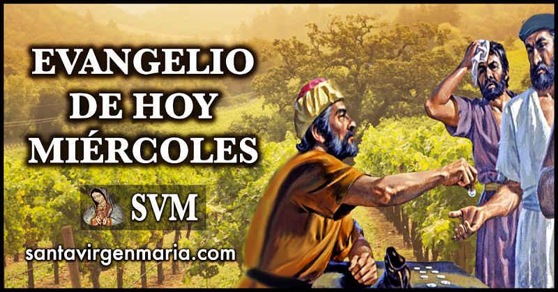 Evangelio San Mateo 20 1-16a CATOLICO