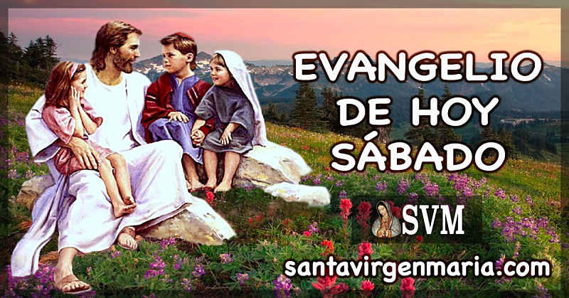 Evangelio San Mateo 19 13-15 CATOLICO