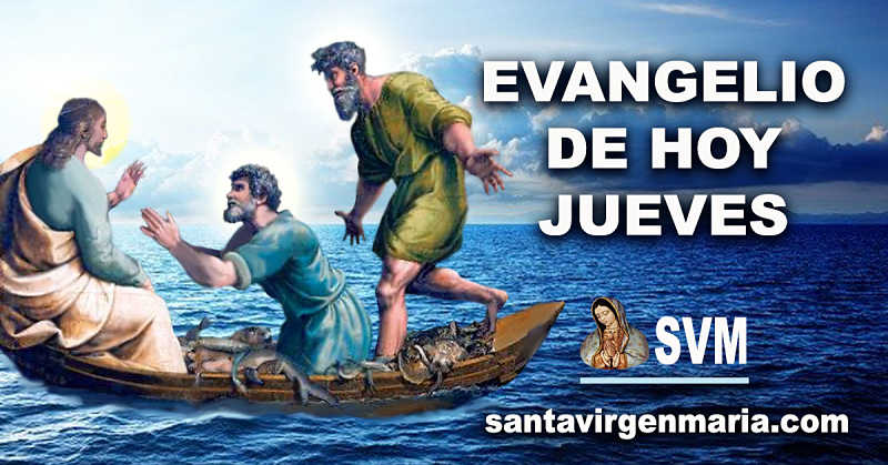 Evangelion San Lucas 5 1-11 CATOLICO