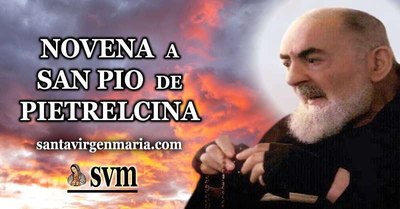 NOVENA A SAN PIO DE PIETRELCINA