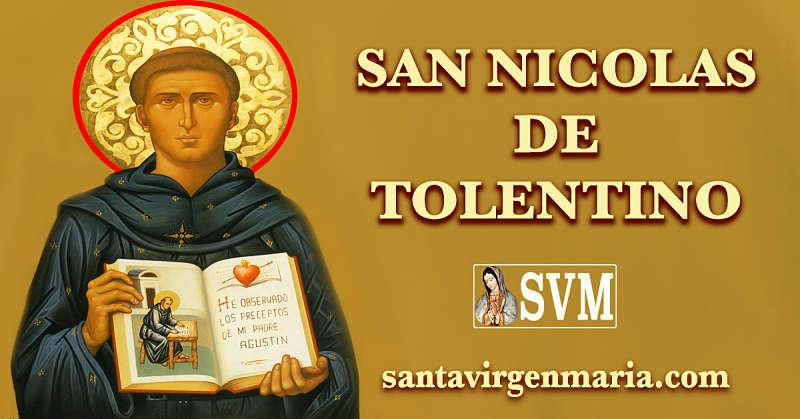 ORACION A SAN NICOLAS DE TOLENTINO