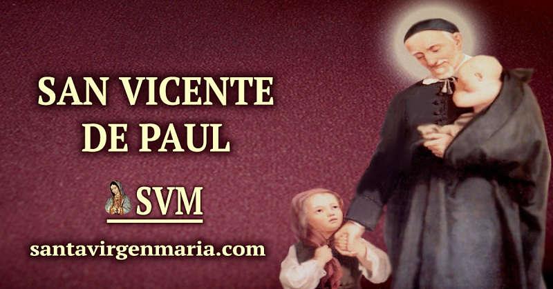 ORACION A SAN VICENTE DE PAUL