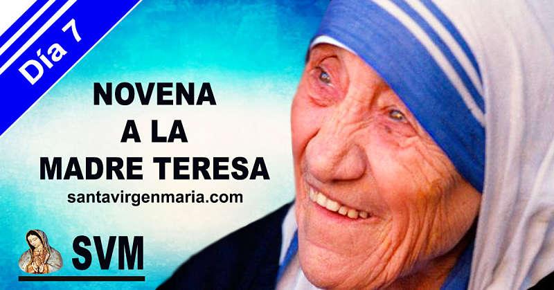 SEPTIMO DIA DE LA NOVENA A LA MADRE TERESA