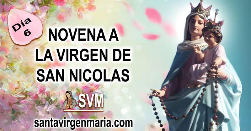 NOVENA A LA VIRGEN DE SAN NICOLAS