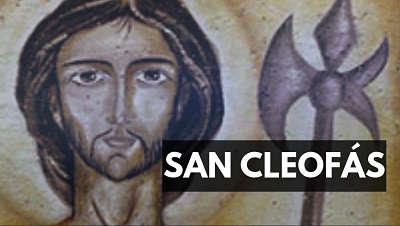 San Cleofás biografia vida foto imagen biblia
