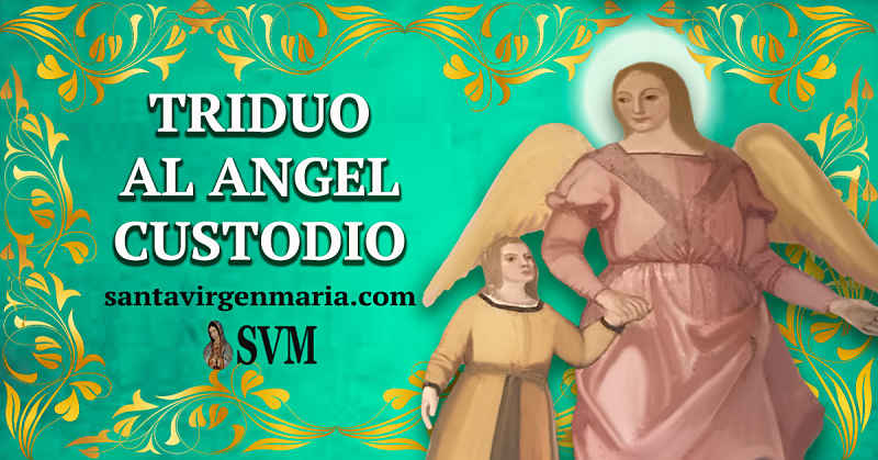 TRIDUO AL ANGEL CUSTODIO
