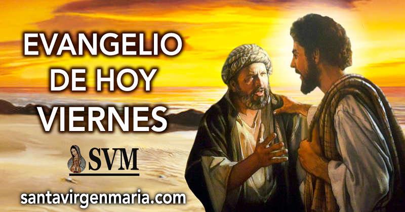Evangelio según San Lucas 9: 18-22. CATOLICO