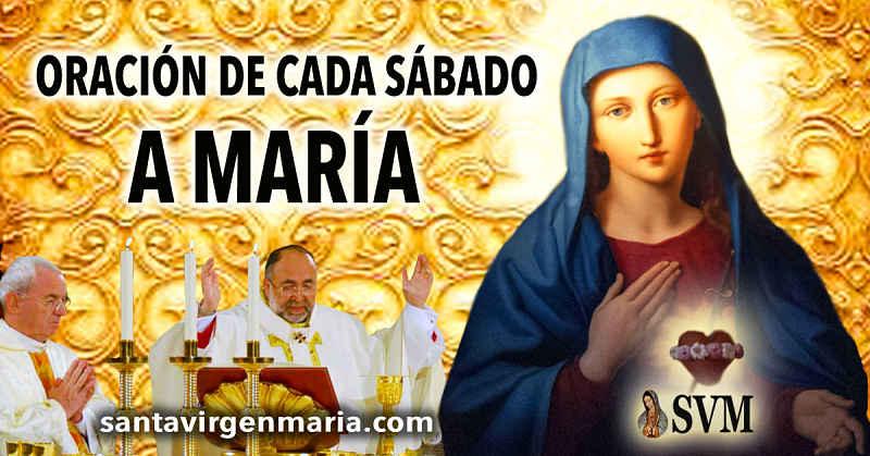 ¿Por qué el sábado es el día de María?