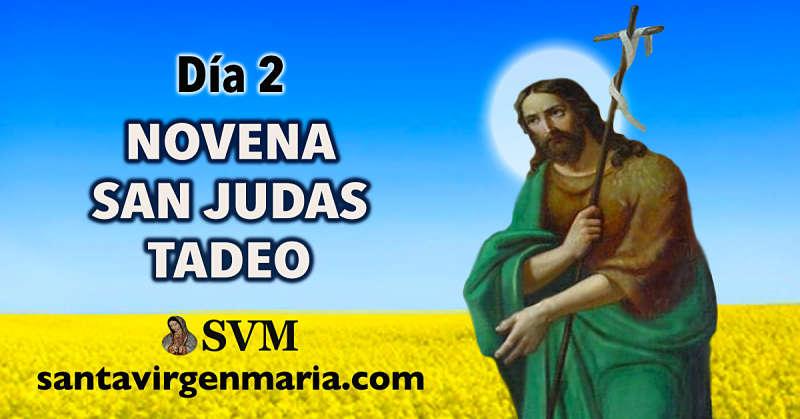 DIA 2 NOVENA A SAN JUDAS TADEO.
