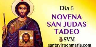 DIA 5 NOVENA A SAN JUDAS TADEO