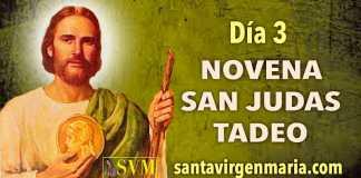 DIA 3 NOVENA A SAN JUDAS TADEO