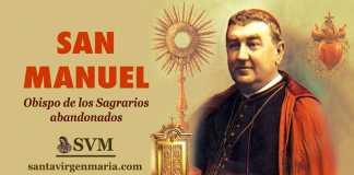 ORACION A SAN MANUEL GONZALEZ GARCIA