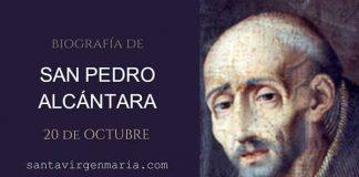 San Pedro de Alcántara BIOGRAFIA SANTO