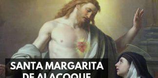 Santa Margarita de Alacoque sagrado corazon de jesus biografia vida