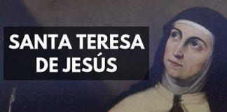 Santa Teresa de Jesús de Avila mistica biografia vida carmelita