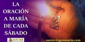 La oración a MARÍA de cada sábado