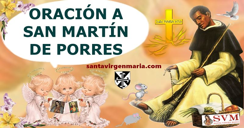 oracion a fray martin de Porres