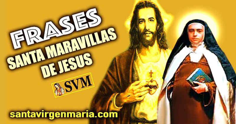 Frases Santa Maravillas De Jesus 11 De Diciembre