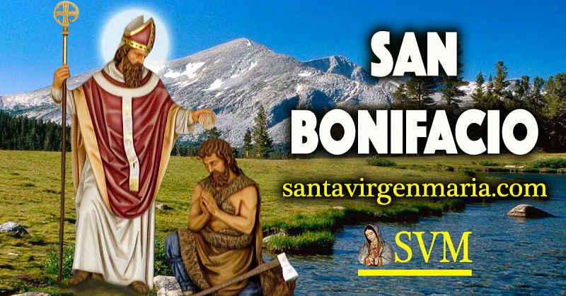 ORACIÓN A SAN BONIFACIO