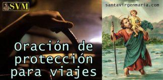 Oración a San Cristóbal de protección para viajes.