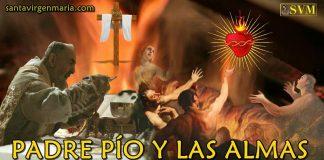 Padre Pío y las almas del Purgatorio
