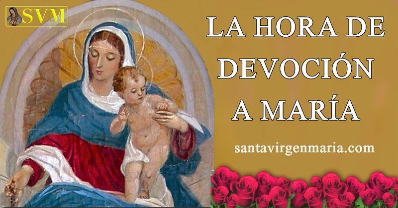 La hora de devoción a María