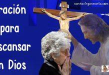 Oración para el descanso en el Espíritu