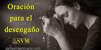 oración frente al mal amor de los hombres