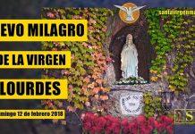 milagro por intercesión de la santísima Virgen
